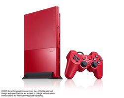 ps2 cinnabar red