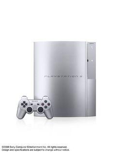 PS3 Satin Silver   1