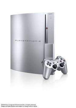 PS3 Satin Silver   2