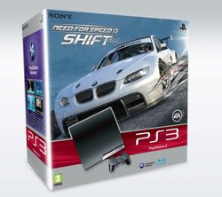 PS3 Slim 250 Go - bundle Need for Speed Shift