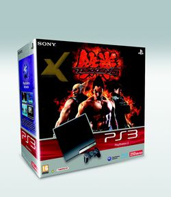 PS3 Slim 250 Go - bundle Tekken 6