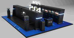 PS4 - bornes centre commercial