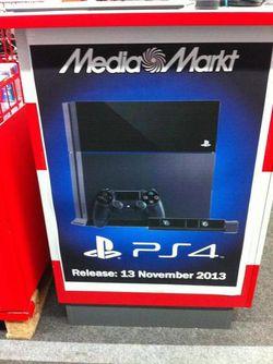 PS4 - date sortie - 1