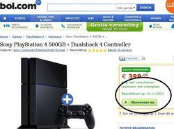 PS4 - date sortie - 2