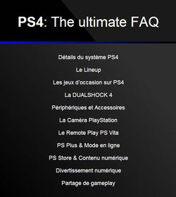 PS4 faq ultime