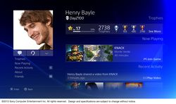 PS4 - interface 4