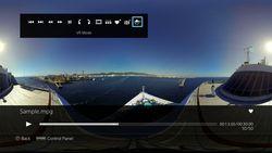 PS4 lecteur multimedia mode VR