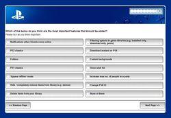 PS4 sondage firmware 4.0