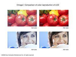 PSP 3000   comparaison