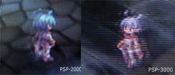 PSP 3000   scanline