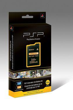 Psp extended life battery kit 1