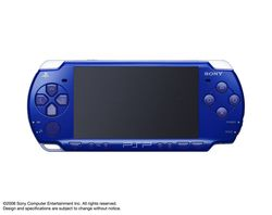 psp metallic blue