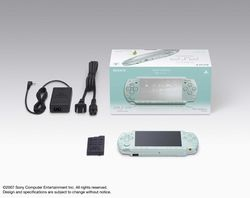PSP Slim & Lite Mint Green - 1