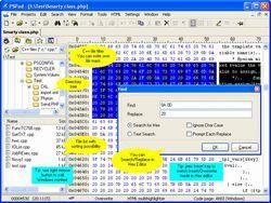 PSPad Editor screen1