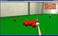 QuickSnooker screen 1