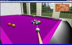 QuickSnooker screen 2