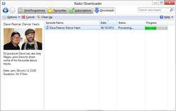Radio Downloader screen2
