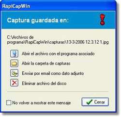 RapiCapWin screen 1.