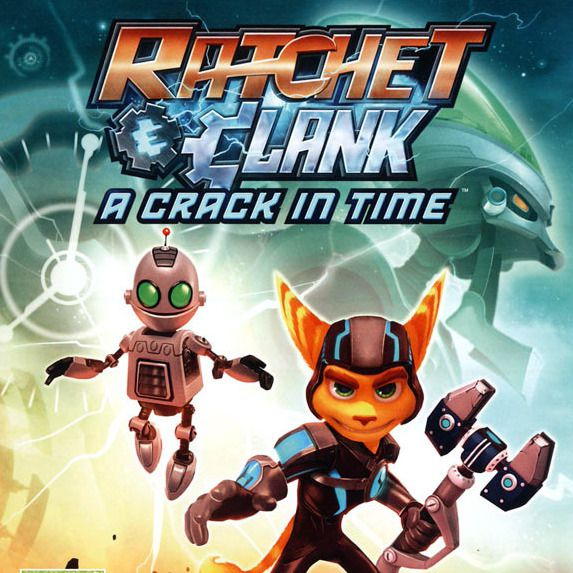 PlayStation 3, Игры, Ratchet and Clank a Crack in Time PS3, Отправляйтес