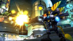 Ratchet & Clank Future : A Crack in Time - 1
