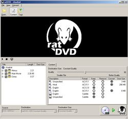 RatDVD screen1