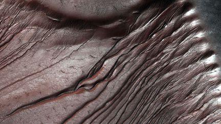 ravines Mars