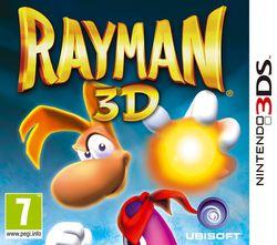 Rayman 3D - pochette