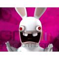 Rayman contre lapins cretins video noel 120x90