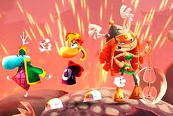 Rayman Legends - artwork