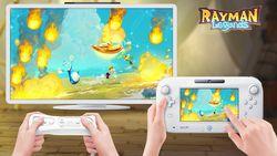 Rayman Legends Wii U - 1