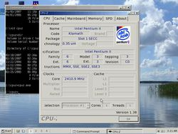 ReactOS CPU-Z