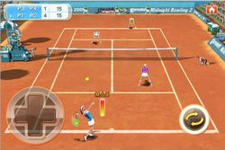 Real Tennis 2009 iPhone 01