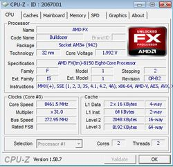 Record fréquence AMD FX
