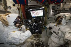 RED camera NASA ISS