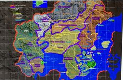 Red Dead Redemption 2 - map