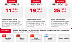 Red offre destination incluse