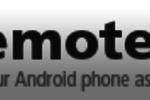 Remotedroid server : un excellent d'interagir sur votre PC avec votre téléphone