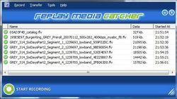 Replay Media Catcher screen1