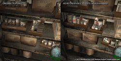 Resident Evil 4 HD Project - comparatif 2