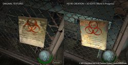 Resident Evil 4 HD Project - comparatif 4
