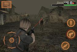 Resident Evil 4 iPhone - 5