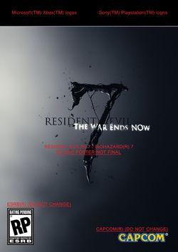 Resident Evil 7 - visuel