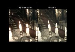 Resident Evil Rebirth HD - comparatif 2