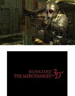 Resident Evil The Mercenaries 3D (1)