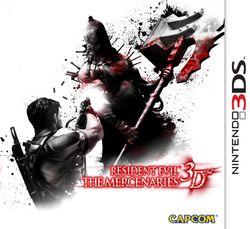 Resident Evil The Mercenaries 3D - pochette