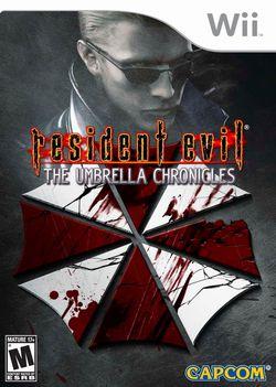 Resident evil the umbrella chronicles packaging
