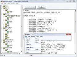 Resource Hacker screen1