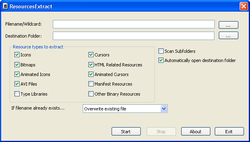 ResourcesExtract screen1