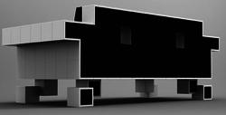 Retro Alien Couch 2