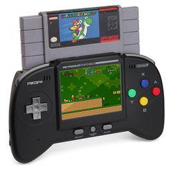Retro Duo Portable NES/SNES Game System - 1